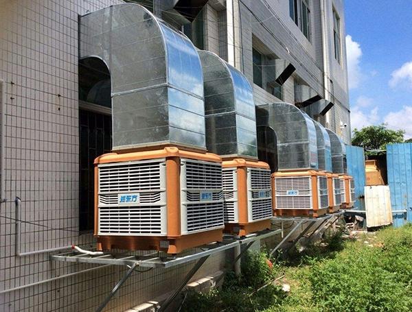 下江北某公司办公楼空调安装